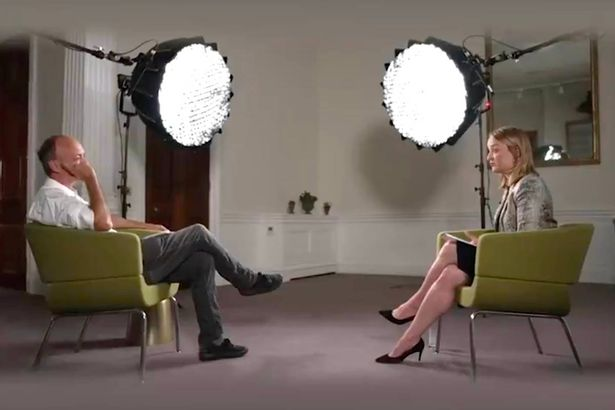 A preview clip from Dominic Cummings' bombshell interview with Laura Kuenssberg shows the pair sitting across from each other