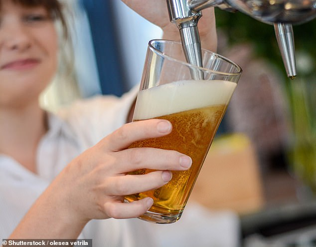 Raising a glass:Total sales from May 17 to July 24 were at 92 per cent of the levels seen in the same period in 2019, before the pandemic