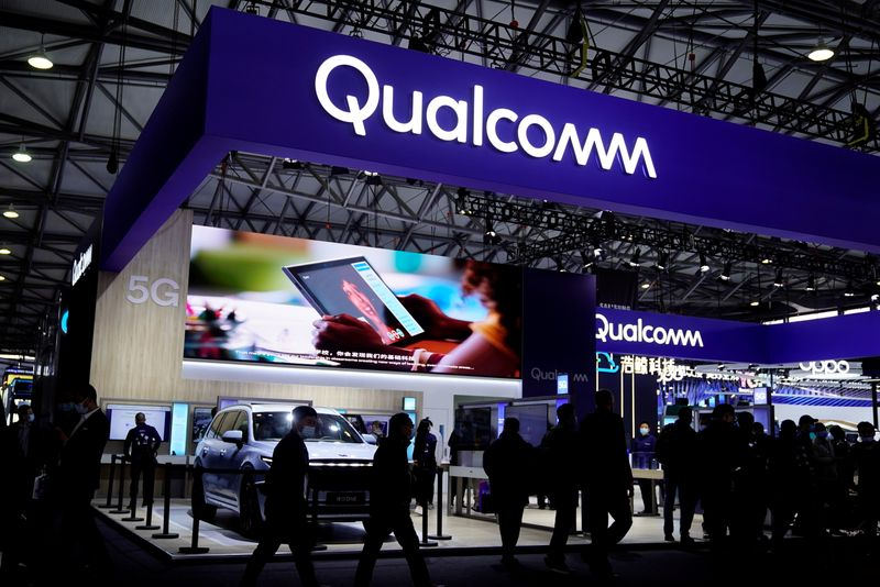 Qualcomm forecasts sales above Wall Street as supply bottlenecks ease