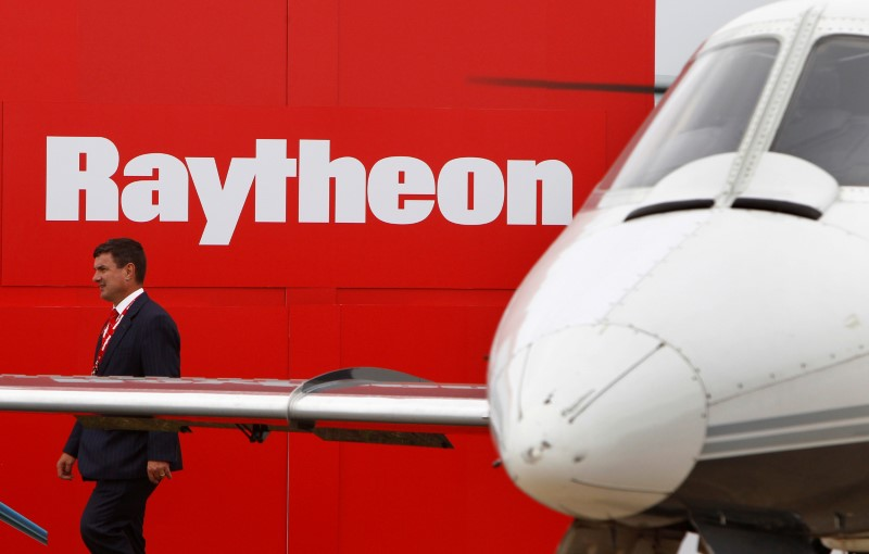 Raytheon Jumps After Another Revision to Its Outlook