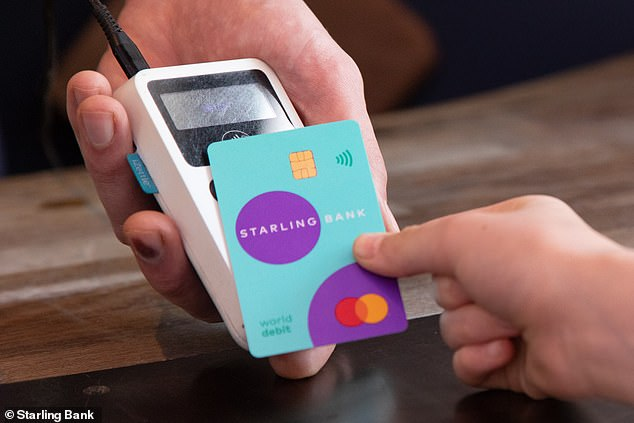 Appy days: Digital bank Starling, raked in revenues of £97.6m in the 16 months to March 31 ¿ up almost 600 per cent on the prior year