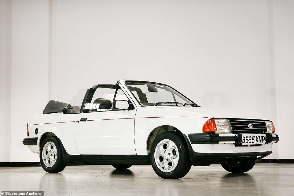This retro Escort Cabrio failed to sell at auction but Silverstone Auctions says an offer of £20,700 today would be enough for it to find a new keeper