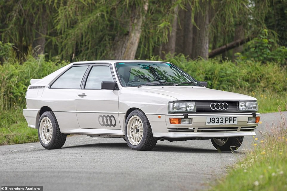 Documents confirm this is the last right-hand drive Audi Quattro produced, which was enough for collectors to battle it out and pay more than double the lower estimate for the car