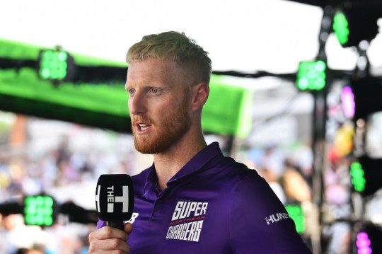 Ben Stokes speaks to media after Trent Rockets' Hundred match with Northern Superchargers