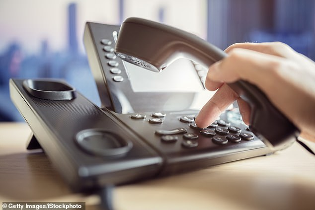 The decline of the office landline comes as firms replace fixed lines with internet-based communications