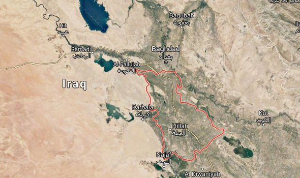 Babylon: The ancient region is around 60 miles south of Baghdad, Iraq