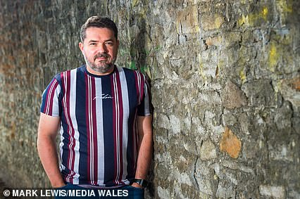 The 43-year-old (pictured), who lives in Cardiff, says his family members refused the Covid jab after falling victim to 'anti-vaccination propaganda' and 'misinformation'