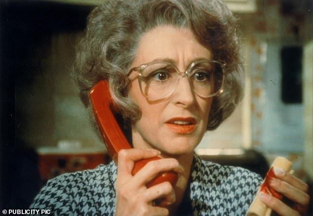 BT memorably used Maureen Lipman as 'Beattie' (pictured) to promote landline services in the 1980s