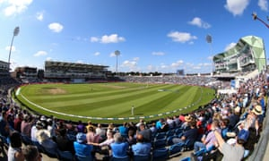 General view inside the ground during day four of the Third Test match at the Emerald Headingley, Leeds between England and India.