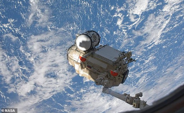 They Russian Rassvet module is the most recent habitable module to launch into space, and is attached to the ISS, used primarily for cargo storage and some payload operations
