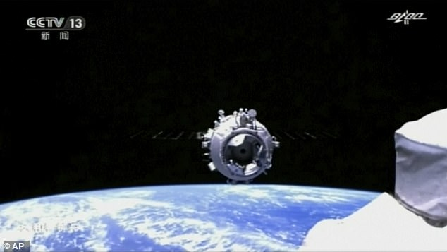 China sent its first crew to the Tiangong space station earlier this year. A modular platform that will be built up over the coming years with new additions built on Earth and sent to space
