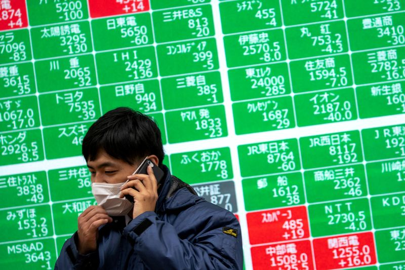 Asian shares near 1-wk highs but Delta woes mount
