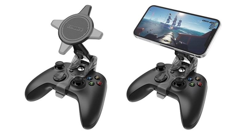 Join iPhone to Xbox controller with Otterbox Mobile Gaming Clip for MagSafe
