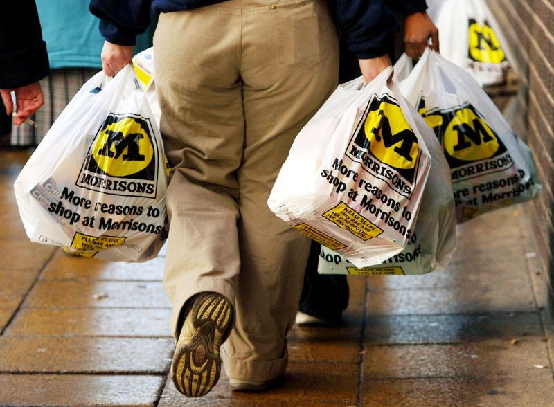 Morrisons shares at eight-year high ahead of expected bid battle