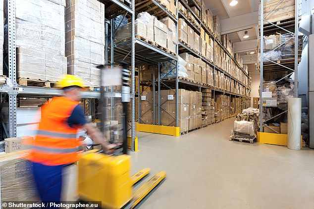 Expansion: Most of the warehouses are being built in the 'golden triangle' in the Midlands