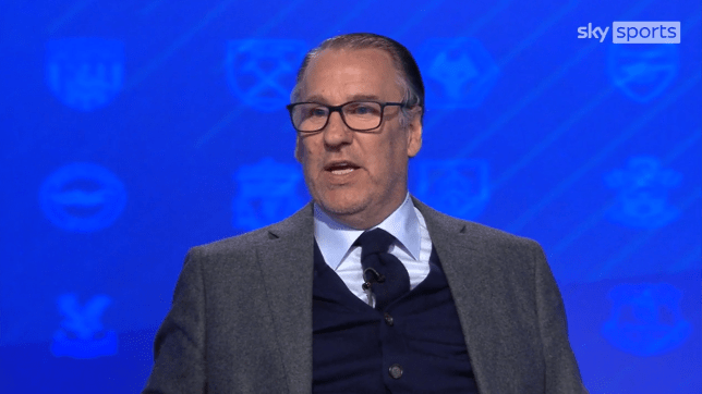 Paul Merson has made his prediction for the Premier League fixtures