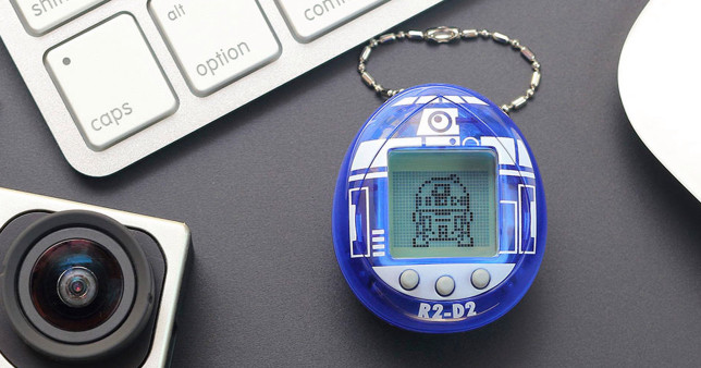 The lovable droid R2-D2 is soon going to be available as a Tamagotchi pet (Bandai America)