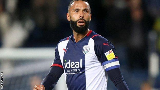 Kyle Bartley headed Albion's goal against Milllwall four minutes into the second half
