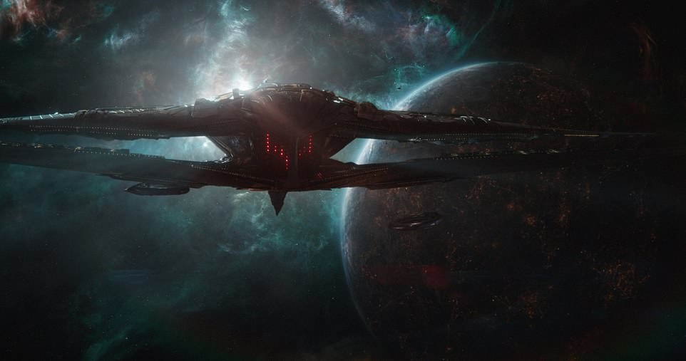 The Sanctuary II (pictured) was a massive warship commanded by Thanos that featured in both Endgame and Infinity War