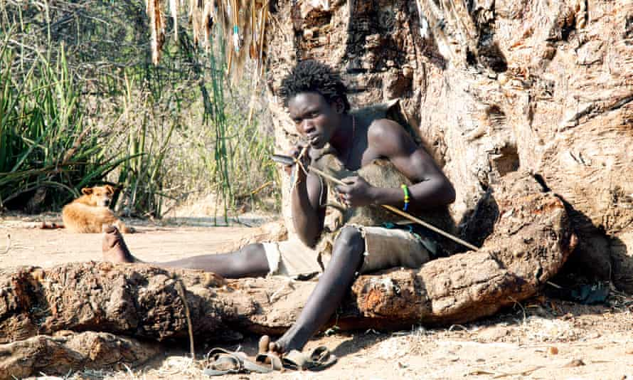 The Hadza people in east Africa are some of the last  hunter-gatherers in the world.