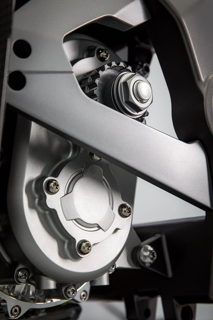 Detail from the Triumph TE-1
