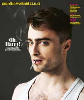 Daniel Radcliffe on Guardian Weekend Magazine Cover 23.11.13