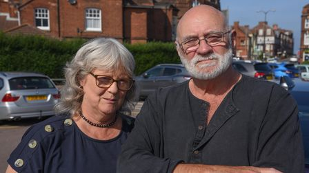 Louise, 60, and John Brock, 71, from Sheringham. Picture: Danielle Booden