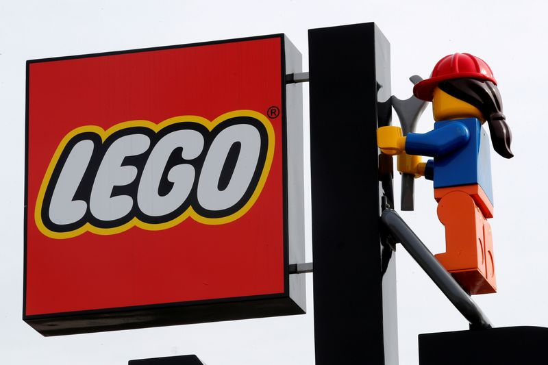 Colosseum kits and plastic flowers help Lego's earnings double