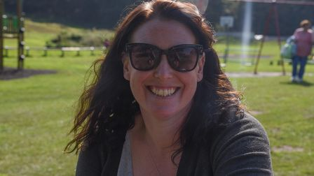 Terri Russell, 40, from Holt. Picture: Danielle Booden