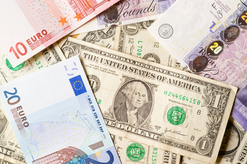 Dollar Edges Higher as Policy Gap Widens; Evergrande Fears Continue to Bubble