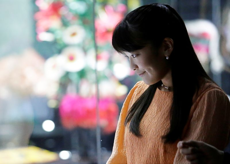 Japan's Princess Mako to give up one-off payment in controversial marriage-media