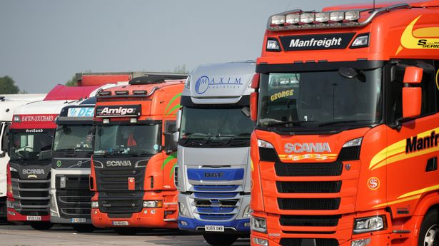 Letters are to be sent out to HGV licence holders to encourage them to get back behind the wheel