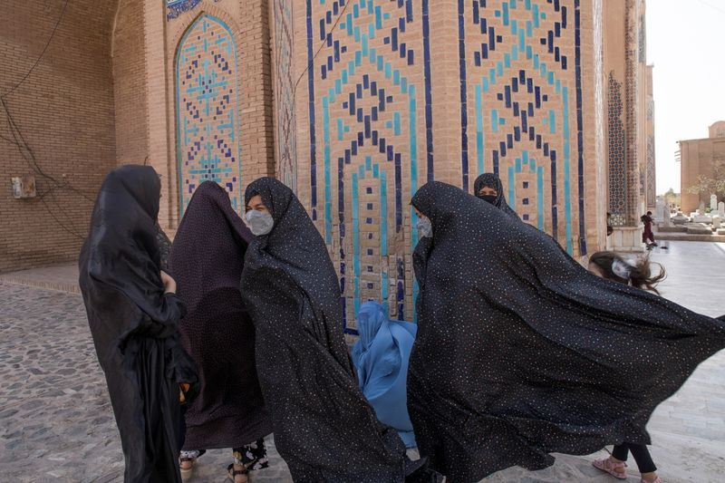 Taliban say woman can study at university but classes must be segregated