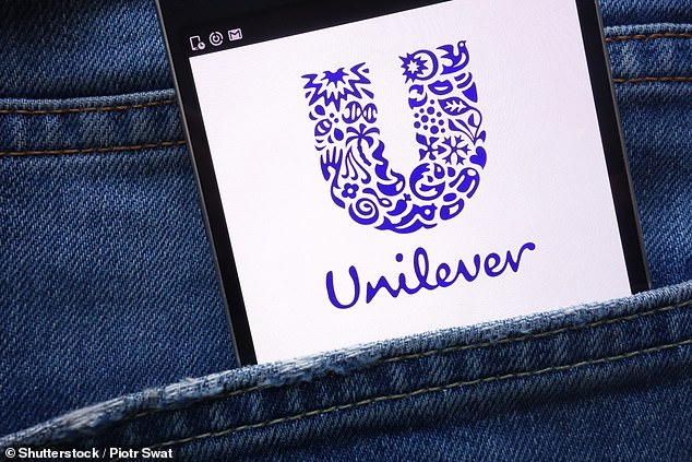 Pocketing a fortune:At £103billion, Unilever is the second most valuable stock in the FTSE100 after AstraZeneca