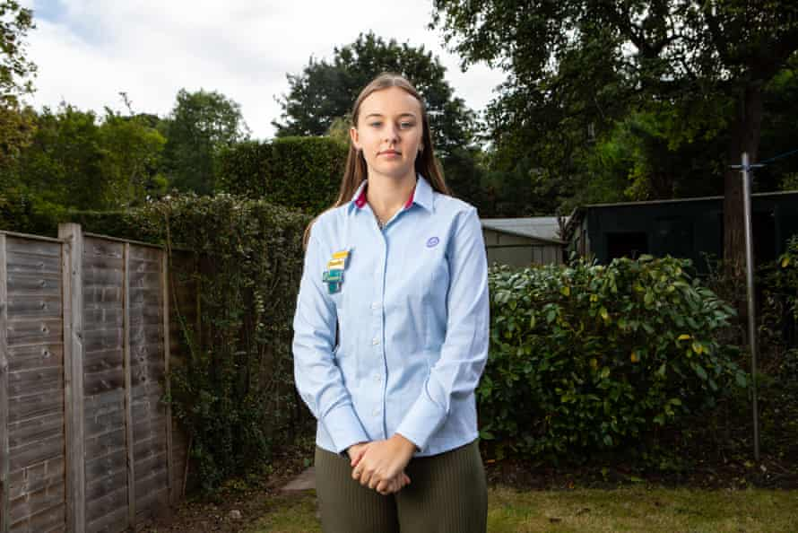 Phoebe, a Girlguiding advocate, believes that boys should be educated from a young age to respect women and girls.