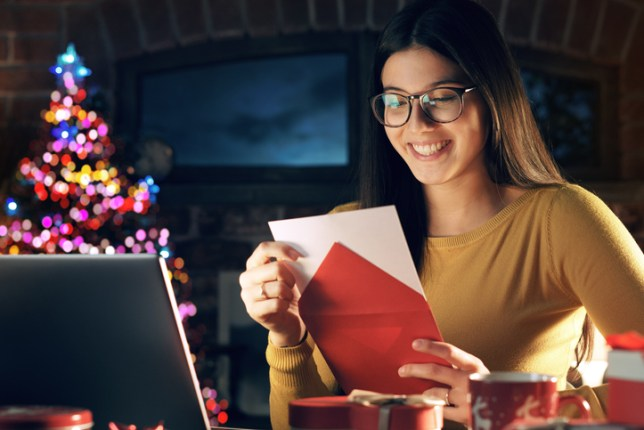 How to safely send and open Christmas cards - Business Mayor
