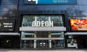 More expensive than a Ryanair flight … Odeon Leicester Square.