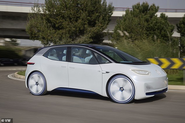 VW said the portable systems will be key to helping Europe develop its infrastructure for charging electric cars of the future, such as its own ID range