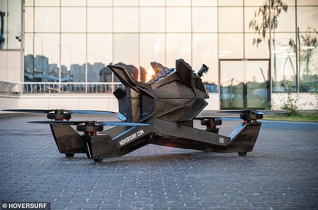 Buyers can preorder a Hoverbike S3 2019 with a US$10,000 deposit, and the full price is set at $150,000, and deliveries are slated to take place within two to six months from your time of reservation