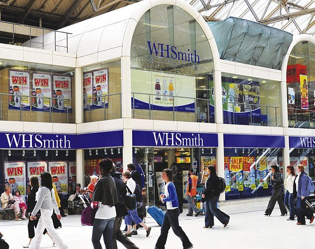 Strong performance: WH Smith is continuing to grow its footprint across railway stations and airports