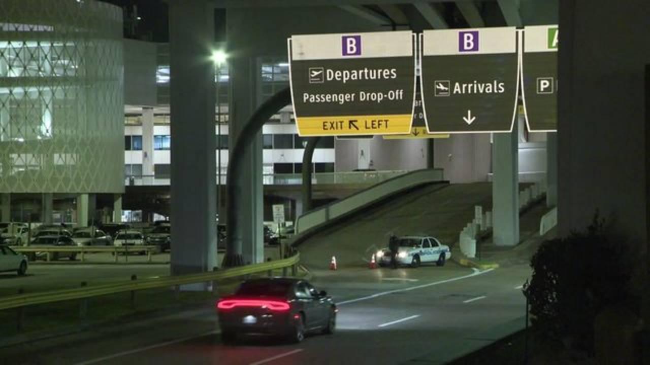 Terminal B at Bush Airport closed 1-14-19