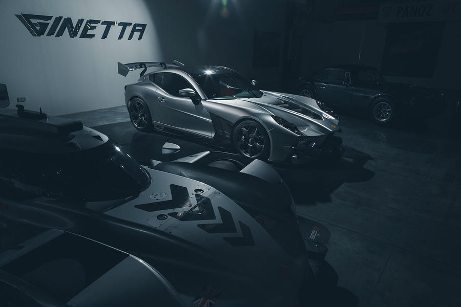 exclusive  200mph ginetta supercar revealed