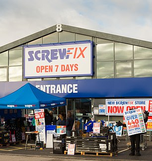 Screwfix is a fast-growing part of the group targeted at trade workers