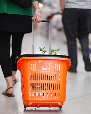Shoppers are said to be spending less amid economic uncertainty