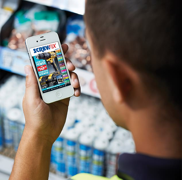Kingfisher's Screwfix brand attracts more trade customers and is known for its digital prowess
