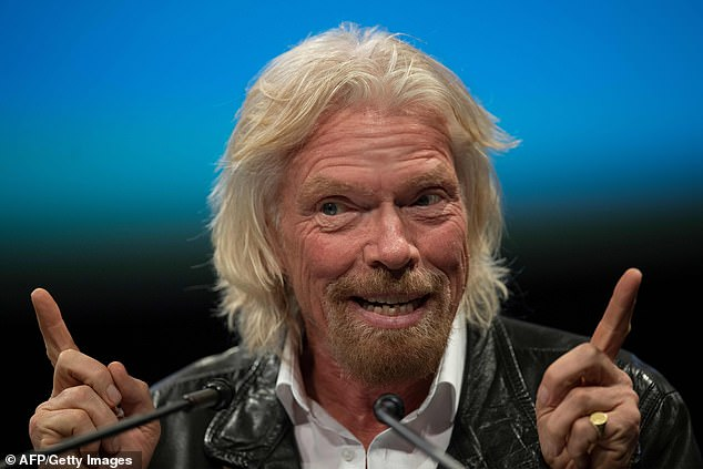 British billionaire Richard Branson, pictured here, plans to travel to space within the next four or five months aboard his own Virgin Galactic spaceship.Virgin Galactic is one of two companies, along with Blue Origin, on its way to sending passengers into space