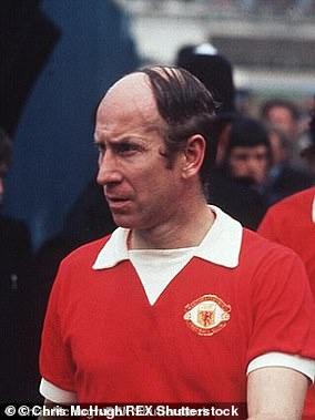 But Mr Hamid said he ended up looking more like Bobby Charlton, pictured here sporting a questionable comb-over