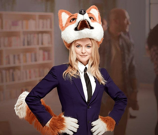 Under cover: GVC owns Ladbrokes and Foxy Bingo – whose adverts have featured American actress Heather Graham since March 2017