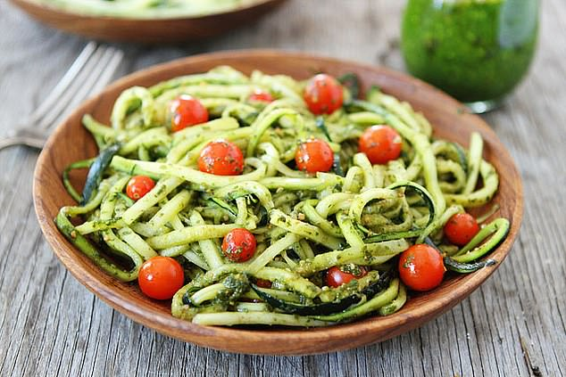 Courgetti: Why not ruin a plate of spaghetti by making it out of courgettes?