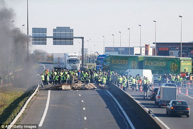 Quite good at protesting: French gilets jaunes take back control of their streets - and quite soon possibly our food.